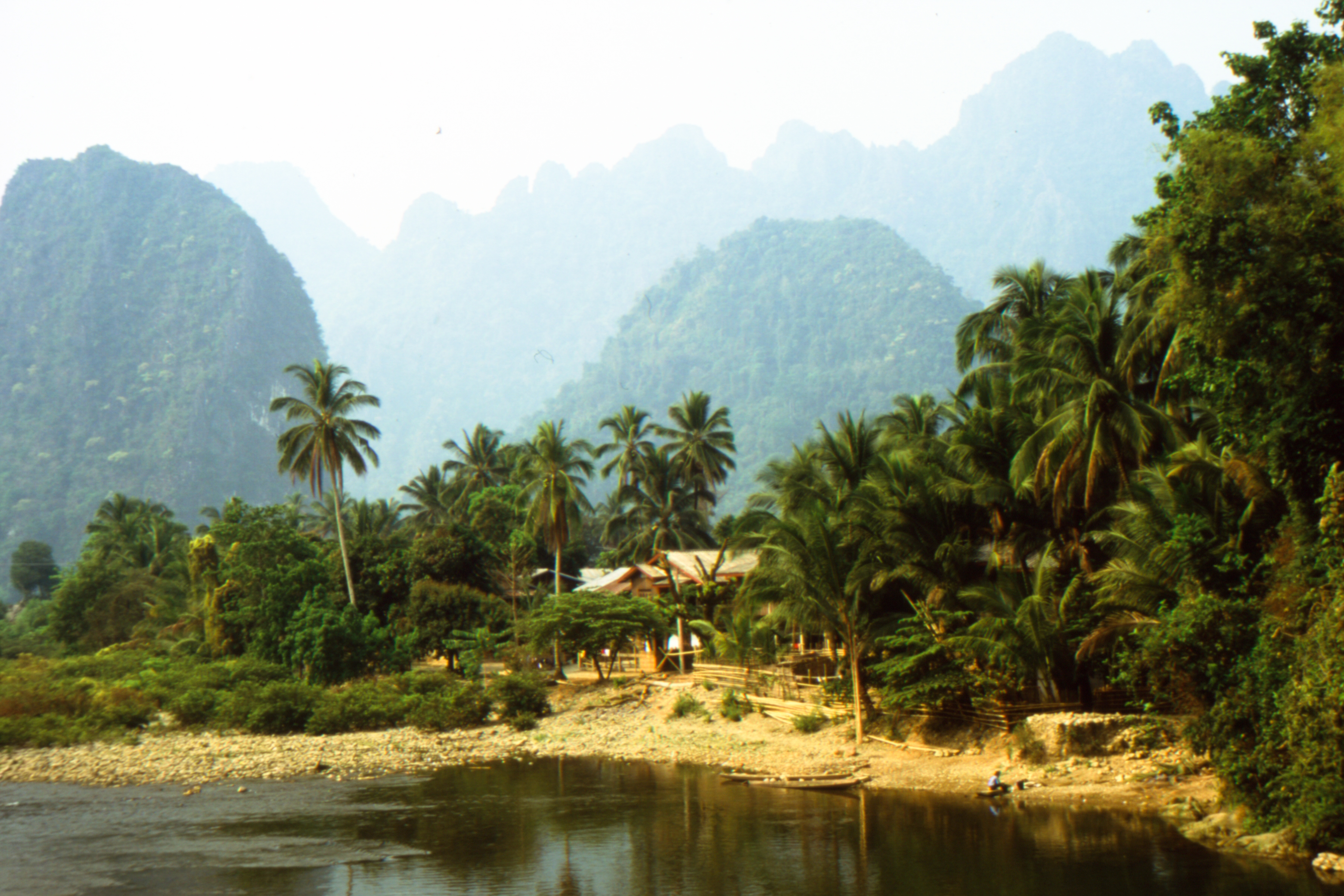 On the way to Vang Vieng, Laos. Photo © Mark Mauchline.