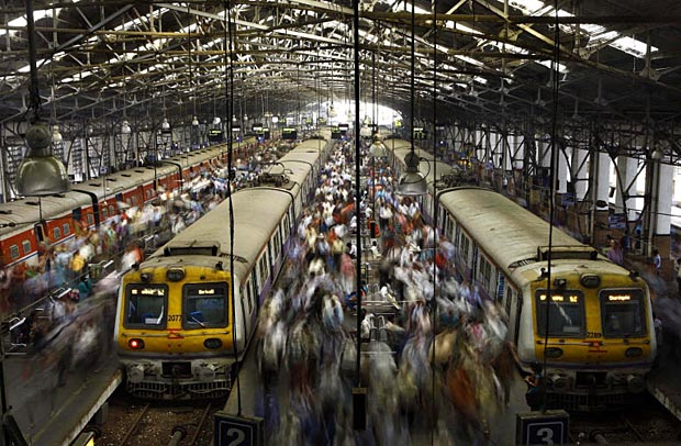 The end of the line, as well as the beginning of another journey for Western Railways commuters: Churchgate station. Photo courtesy of the Windsor Star.